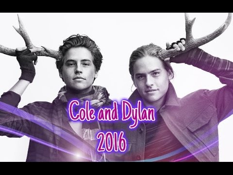 Cole and Dylan Sprouse - 2016