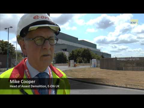 Kingsnorth Turbine Hall demolished in controlled expolosion