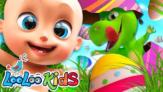 Easter Funny Songs For Kids | Happy Easter With Johny Johny | LooLoo Kids Nursery Rhymes