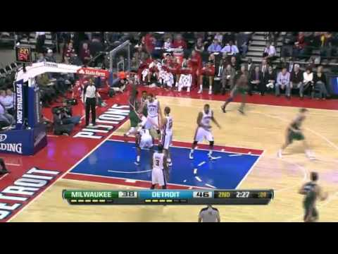 You Got Dunked On: Larry Sanders Dunks On Brandon Knight