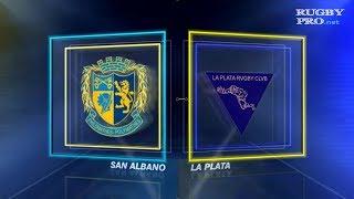 San Albano vs La Plata (26-26) - Rugby URBA Primera A - Fecha#9 (16-06-2018)