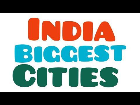 India Biggest cities / New Delhi is big city in India