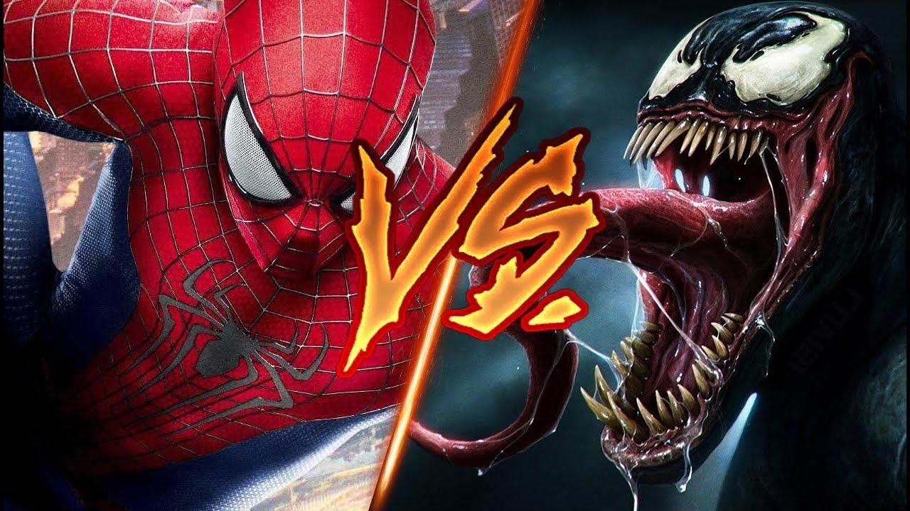 spiderman vs. venom ||batallas de rap Épicas|| español - shurez