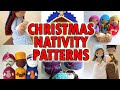 Christmas Nativity Crochet Patterns! CHRISTMAS IN JULY!