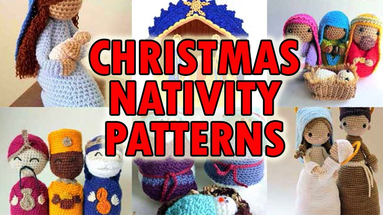 Crochet Nativity Pattern Amigurumi Nativity Pattern ... | 720x1280