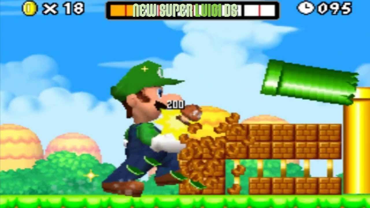 Unlock Luigi in New Super Mario Bros. 2 - Guide ...