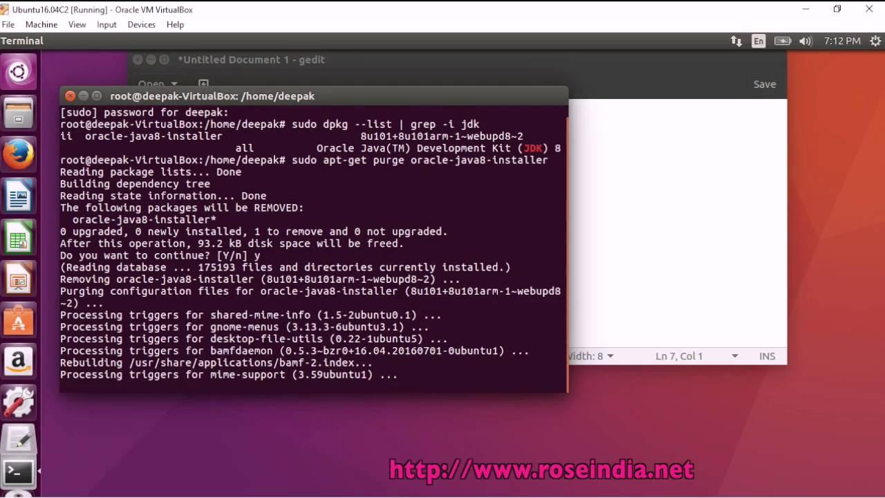 How to Uninstall Oracle Java JDK 8 in Ubuntu 16 04?
