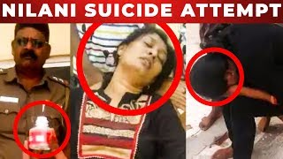 Shocking : Serial Actress NILANI suicide attempt