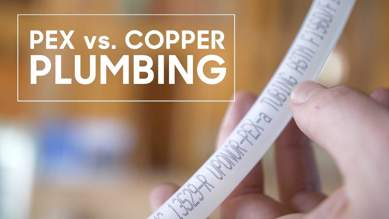 Pex vs copper plumbing youtube for Pex pipe vs copper