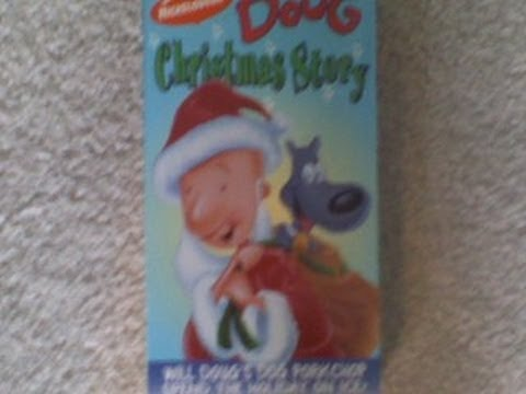 Doug Christmas Story Vhs.Opening Previews To Doug Christmas Story 1994 Vhs