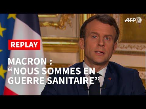 "Картинки по запросу ""macron covid guerre"""