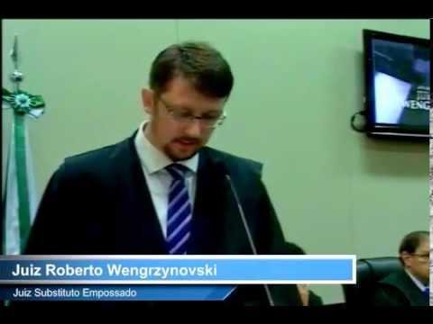 Ato de Posse do Juiz Roberto Wengrzynovski