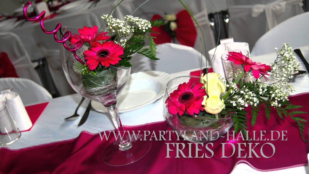Pink Dekoration Hochzeit russische Svadba Hochzeitssaal Eventhalle NrnbergFrth  YouTube