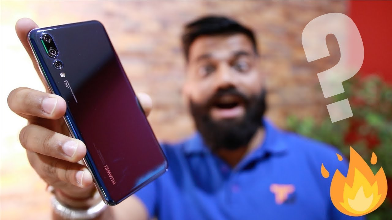 Huawei P20 Pro Unboxing and First Look - The Triple Camera Monster ????????????