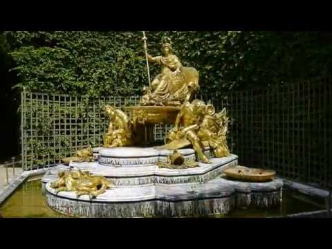 Versailles grandes Eaux 2 :  zone nord ouest-Bassin de Neptune-Allée d'eau