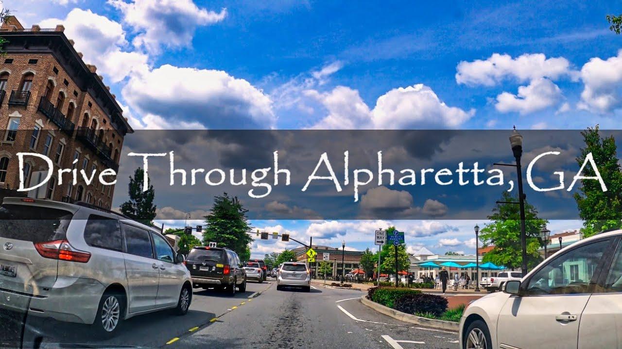 Download Alpharetta, Georgia - Driving Tour - 4K