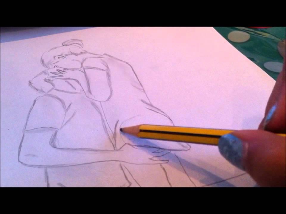 Disegno Bacio Ragazzo E Ragazza 3 By Fabiana Youtube