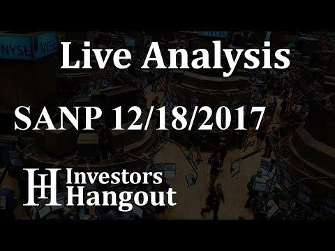SANP Stock Live Analysis 12-18-2017
