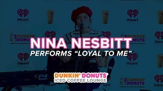 Nina Nesbitt Performs 'Loyal To Me' Live | DDICL