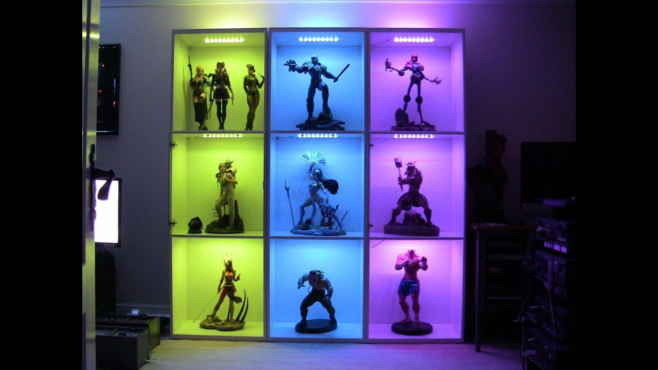 Best Lighting Display Cases