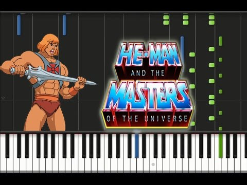 He-Man & The Masters of the Universe - Theme Song Piano Cover