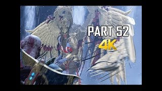 GOD OF WAR Gameplay Walkthrough Part 52 - SIGRUN VALKYRIE QUEEN (PS4 PRO 4K Commentary 2018)