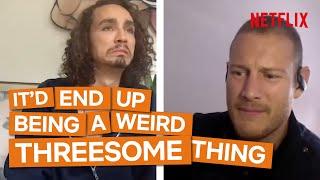 Robert Sheehan & Tom Hopper Answer Weird Fan Questions | The Umbrella Academy