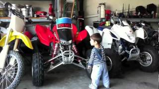 dirt bike shopping for levi for his 2 year old b day present