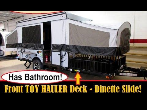 2017 Coachmen Clipper V Trec V3 Toy Hauler Pop Up Tent