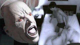 Paranormal Activity Wake Up Scare Prank