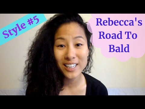 Rebecca's ROAD TO BALD! #5 | Pre-Wedding Hair!