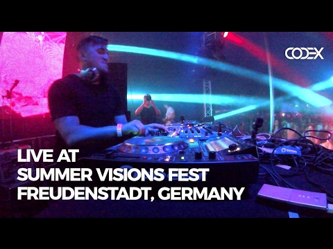 Spartaque Techno Live @ Summer Vision Fest, Freudenstadt, Germany