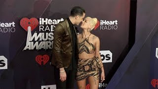 Halsey and G-Eazy 2018 iHeartRadio Music Awards Red Carpet