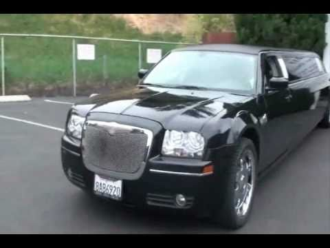 Black Chrysler 300 Limousine | Black Chrysler limo | Black chrysler limos | Black chrysler limoz