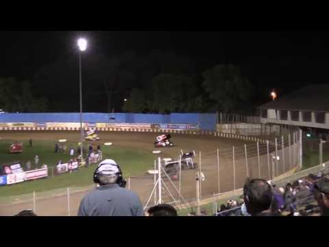 Dominic Scelzi 8-21-16 Heat Race Angell Park Speedway