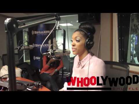 PORSHA STEWART vs DJ WHOO KID on the WHOOLYWOOD SHUFFLE on SHADE45