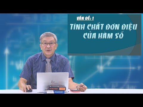 Ôn thi THPT quốc gia 2021 - Môn Toán: Chuyên đề 1 - Tính chất đơn điệu của hàm số