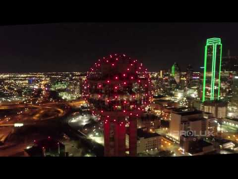 Dallas Skyline Night
