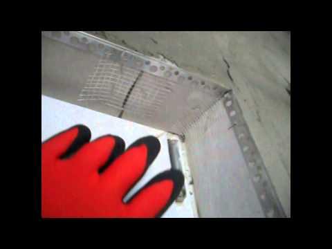 видео: █  Как сделать оконный откос (внутренний)