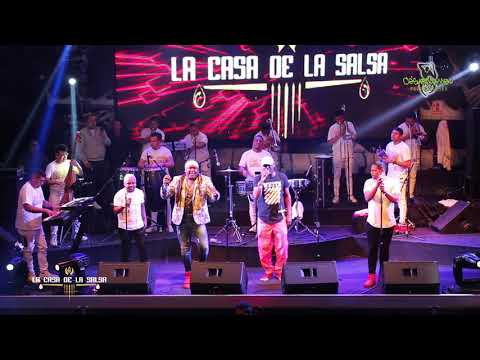 ♫♫Mix Luis Miguel - Los Hermanos Cartagena - Casa De La Salsa 17/08/18