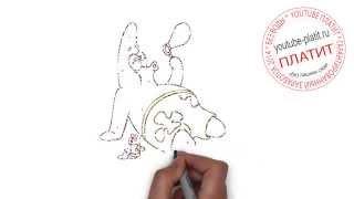 СПАНЧ БОБ  Как нарисовать губку боба карандашом(ГУБКА БОБ. Как правильно нарисовать спанч боба или губку боба поэтапно. На самом деле легко и просто http://youtu.b..., 2014-09-12T18:26:19.000Z)