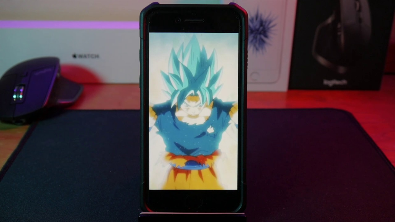 dragon ball super live wallpaper! | 2018 | iphone & android gifs