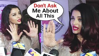 Aishwarya Rai WALKS OFF When Asked About Me Too India Movement