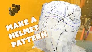How to Make a Helmet Pattern - Prop: Shop