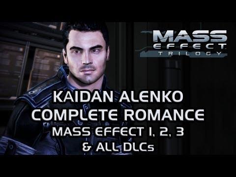 Kaidan Alenko Complete Romance [Mass Effect 1, 2, 3 & all DLCs]