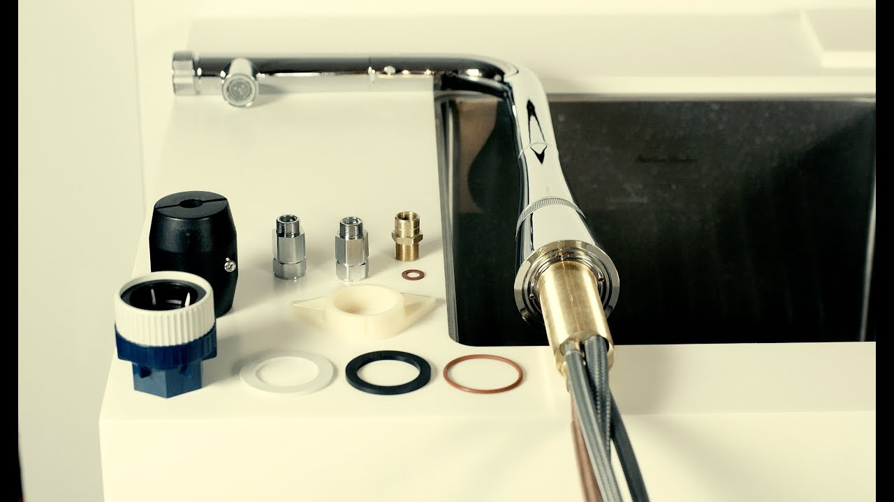 grohe smartcontrol kitchen faucet installation video