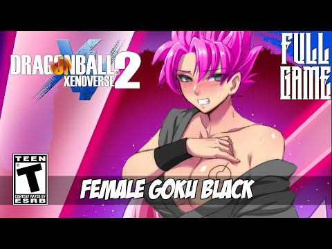 FEMALE GOKU BLACK STORY MODE - DBXV2 MOD [PC - HD]