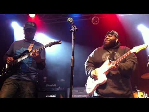 Living Colour, Jimi Hazel, Ronny Drayton, Michael Hampton - Jam (Live @ Million Man Mosh, Jan, 2012)