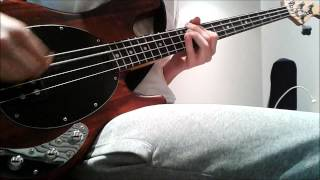 Pulled Apart By Horses - High Five, Swan Dive, Nose Dive (Bass Cover)