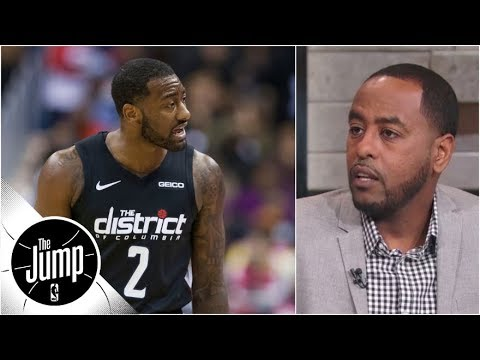 John Wall's ref comments mean he will never get a gray area call again - Amin Elhassan | The Jump